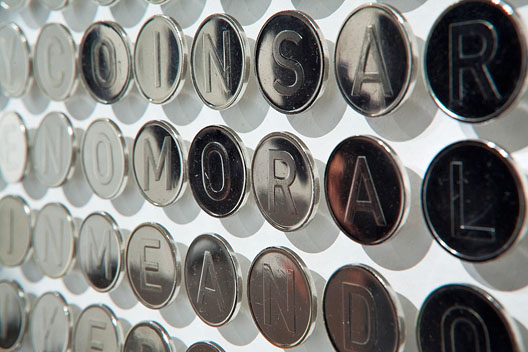 I AM THE COIN - Installation